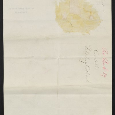 Letter from Charles C. Carstairs to Henry Clay Frick, 21 July 1908 [page 4 of 4]