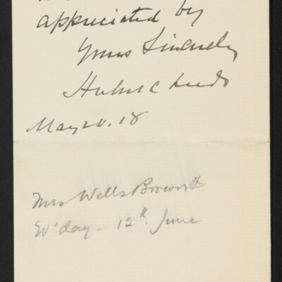 Letter from Herbert C. Leeds to [H.C.] Frick, 20 May 1918 [page 2 of 2]
