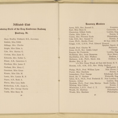Directory of the New York Browning Society, Tenth Season, 1916-1917 [page 14 of 23]