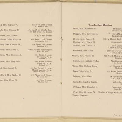 Directory of the New York Browning Society, Tenth Season, 1916-1917 [page 12 of 23]