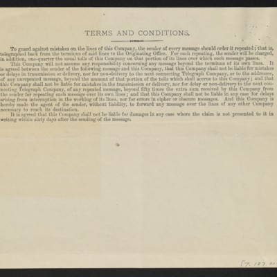 Cable from [Henry Clay] Frick to M. Knoedler & Co., 29 September 1909 [back]