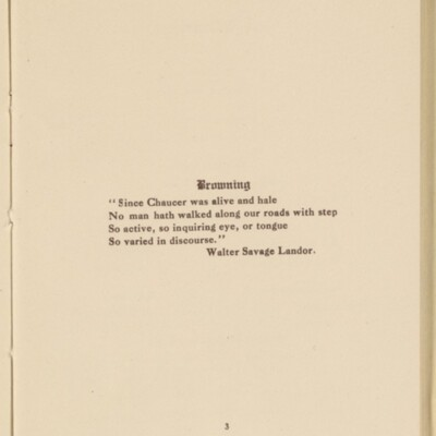 Directory of the New York Browning Society, Tenth Season, 1916-1917 [page 3 of 23]