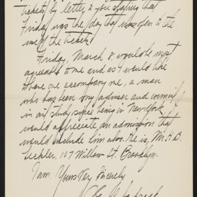 Letter from J. Earl Schrock to H.C. Frick, 4 March 1918 [page 2 of 2]