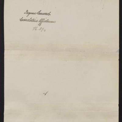 """Photograph of the Dagnan-Bouveret's """"Consolatrix Afflictorum"""" [back]"""
