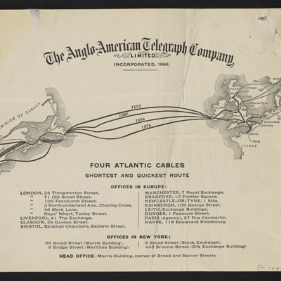 Cable from [Charles S.] Carstairs to [Henry Clay Frick], 28 August 1906 [back]