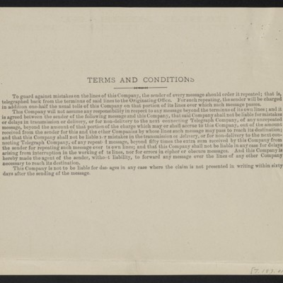 Copy of a cable from [Henry Clay] Frick to M. Knoedler & Co., 29 September 1909 [back]