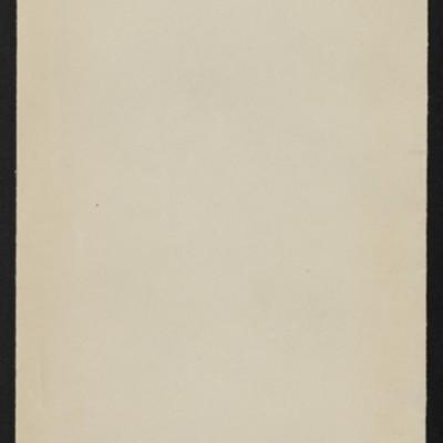 """Envelope for description of Holbein's """"Erasmus von Rotterdam,"""" circa 1912"""