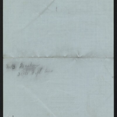 Letter from Edith M. Bridge to J. Howard Bridge, 3 February, 1918 [page 3 of 3]
