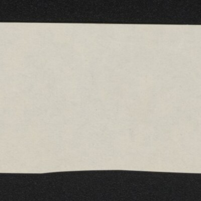Fragment of stationery from Fletcher, Sillcocks & Leahy, 8 March 1918