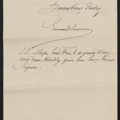 Letter from Edmond Simon of Arthur Tooth & Sons to Henry Clay Frick, 14 December 1900 [page 2 of 2]