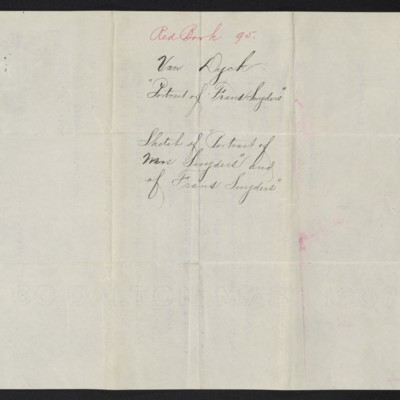 Letter from M. Knoedler & Co. to H.C. Frick, 2 October 1909 [back]