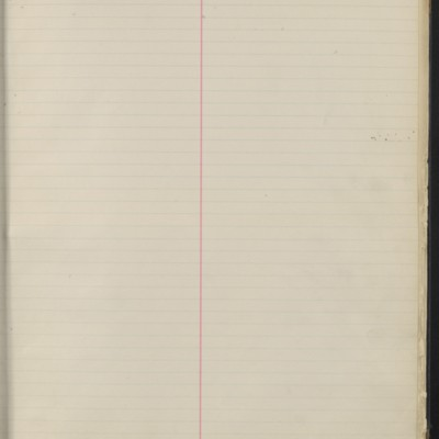 Bill Book No. 1, Index Y