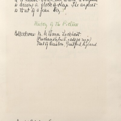 Catalog of Pictures, 1910, 1929 [page 11]