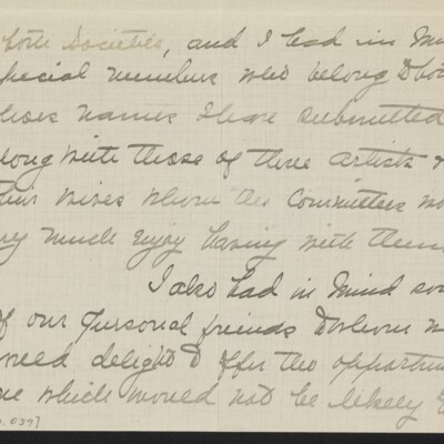 Letter from Jane Fitz Turner to J. Howard Bridge, 31 January 1918 [page 3 of 15]