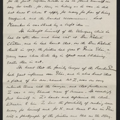 Letter from Charles Romer Williams to [Henry Clay] Frick, 27 February 1911 [2 of 5]