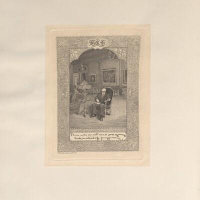 Catalog of Portraits, 1909-1911, 1929 [bookplate]