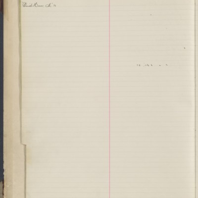 Bill Book No. 1, Index Q