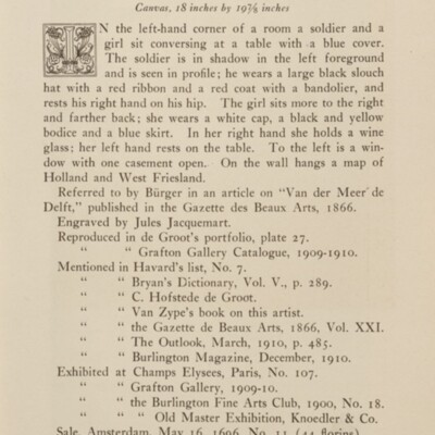 Paintings in the Collection of Henry Clay Frick, 1915 [page 61]