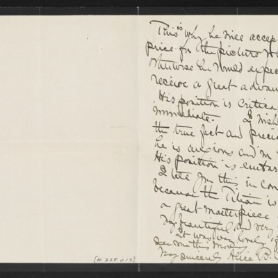 Letter from Alice B. Creelman to [H.C.] Frick, [7] April 1915 [page 2 of 2]