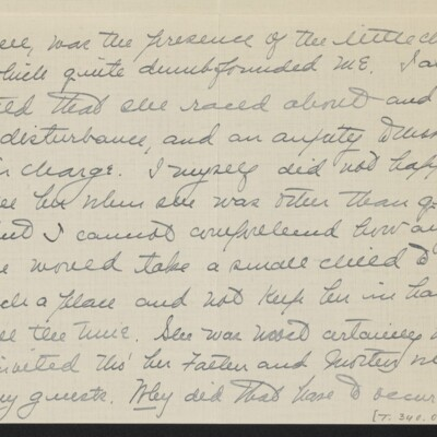 Letter from Jane Fitz Turner to [J. Howard] Bridge, 27 February 1918 [page 3 of 4]