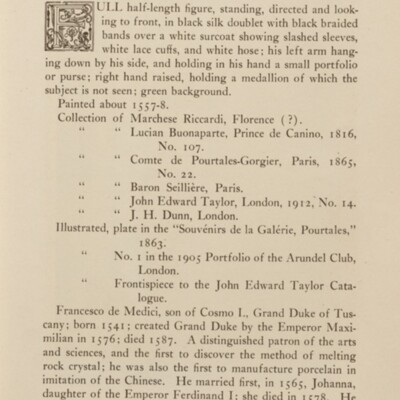 Paintings in the Collection of Henry Clay Frick, 1915 [page 37]