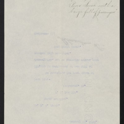 Letter from M. Knoedler & Co. to H.C. Frick, 11 January 1910 [back]