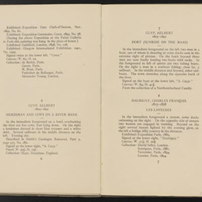 Catalogue of the Henry C. Frick Collection of Paintings, 1908 [pages 6-7]