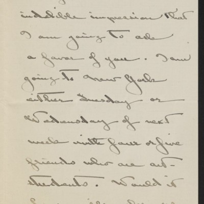 Letter from Katharine M. Barker to [H.C.] Frick, 15 January 1919 [page 2 of 3]