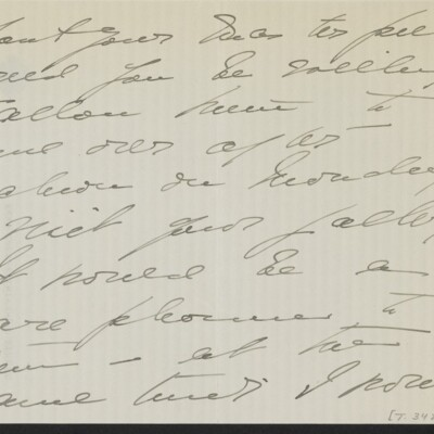 Letter from Mae Bell Van Ingen to [H.C.] Frick, circa 6 May 1918 [page 3 of 4]