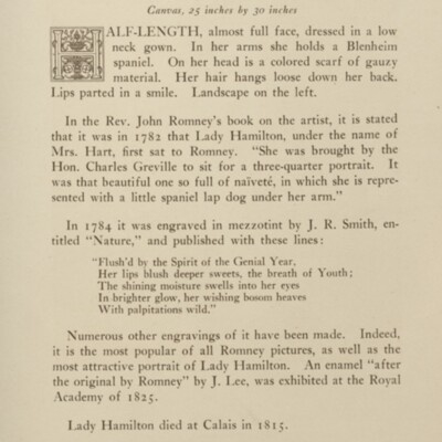 Paintings in the Collection of Henry Clay Frick, 1915 [page 151]