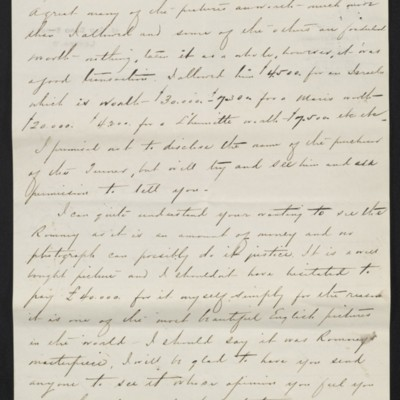 Letter from Charles C. Carstairs to Henry Clay Frick, 21 July 1908 [page 2 of 4]