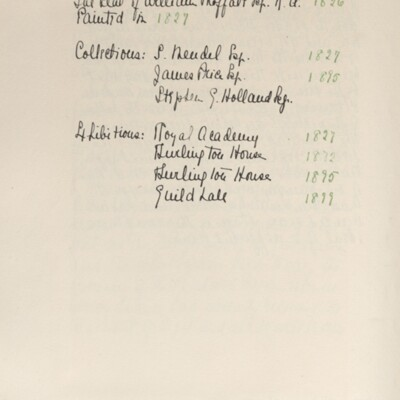Catalog of Pictures, 1910, 1929 [page 37]
