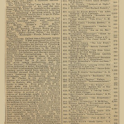 """Clipping, """"Greatest Picture Sale,"""" 18 February 1899"""