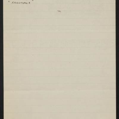 Letter from Slason Thompson to [Alice] Braddel, 12 February 1919 [page 4 of 4]