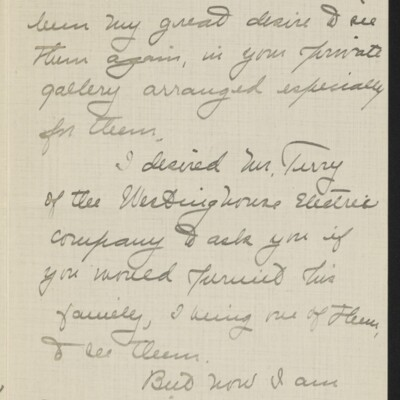 Letter from Jane Fitz Turner to [H.C.] Frick, 29 January 1918 [page 2 of 3]