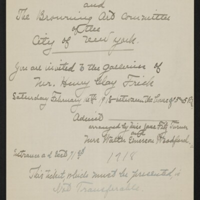 Letter from Jane Fitz Turner to J. Howard Bridge, 10 February 1918 [page 4 of 4]