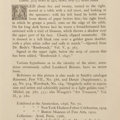 Paintings in the Collection of Henry Clay Frick, 1915 [page 49]