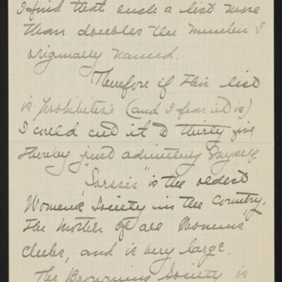 Letter from Jane Fitz Turner to J. Howard Bridge, 31 January 1918 [page 4 of 15]