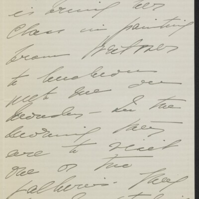 Letter from Mae Bell Van Ingen to [H.C.] Frick, circa 6 May 1918 [page 2 of 4]