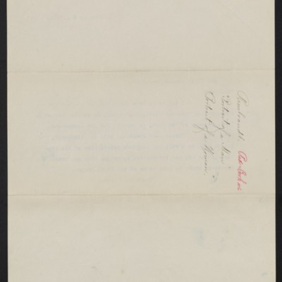 Letter from [Henry Clay Frick] to M. Knoedler & Co., 10 January 1911 [back]