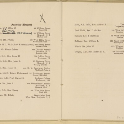 Directory of the New York Browning Society, Tenth Season, 1916-1917 [page 13 of 23]
