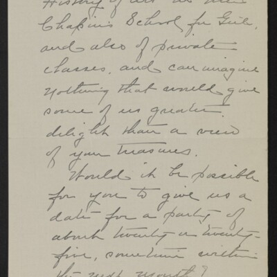 Letter from Clara Crawford Perkins to H.C. Frick, 19 April 1918 [page 2 of 3]
