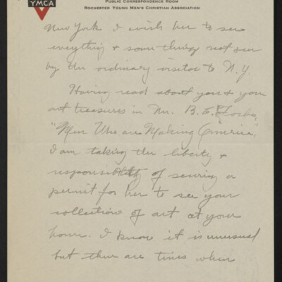 Letter from Arthur Fitch Campbell to Henry C. Frick, 19 December 1918 [page 2 of 6]