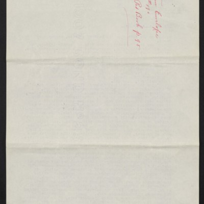 Letter from M. Knoedler & Co. to Henry Clay Frick, 28 September 1909 [back of page 2]