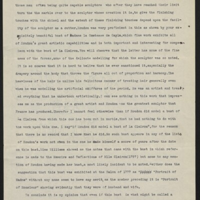 Letter from Charles Henry Hart to Henry C. Frick, 27 June 1916 [page 2 of 3]
