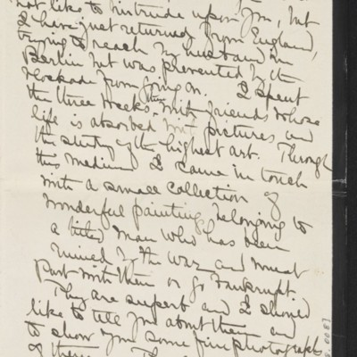 Letter from Alice B. Creelman to [H.C.] Frick, 2 April 1915 [page 2 of 4]