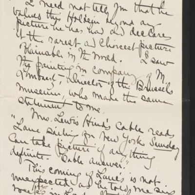 Letter from Alice B. Creelman to [H.C] Frick, 9 April 1915 [page 2 of 4]