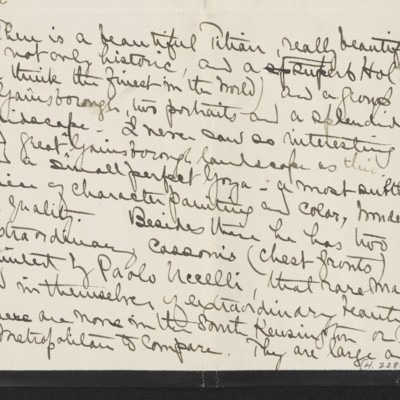 Letter from Alice B. Creelman to [H.C.] Frick, 2 April 1915 [page 3 of 4]