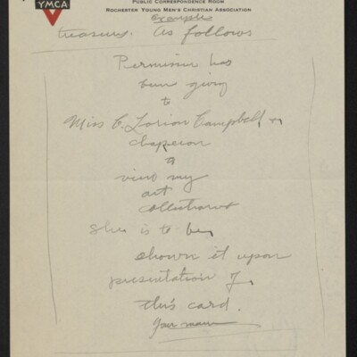 Letter from Arthur Fitch Campbell to Henry C. Frick, 19 December 1918 [page 4 of 6]