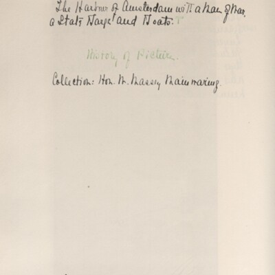 Catalog of Pictures, 1910, 1929 [page 6]